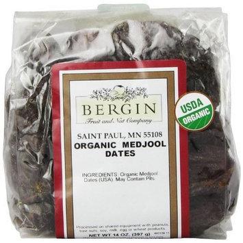 Bergin Fruit And Nut Bergin Nut Company Organic Medjool Dates, 14 Ounce Bag