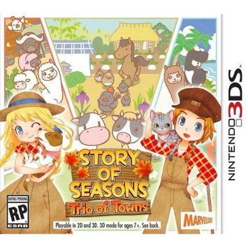 Marvelous Usa, Inc. Story Of Seasons: Trio Of Towns Nintendo 3DS