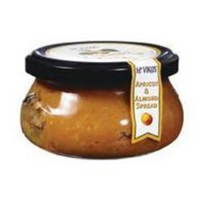 Mt Vikos Mt. Vikos Spread, Apricots & Almond Jar 7.5 oz. (Pack of 6)