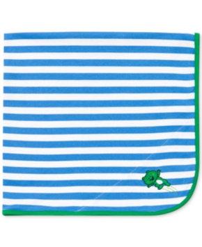 Little Me Baby Boys' Blue Leap Frog Blanket Kid's