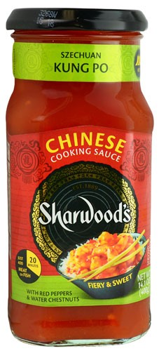 Sharwood's Chinese Cooking Sauce Szechuan Kung Po 14.1 oz