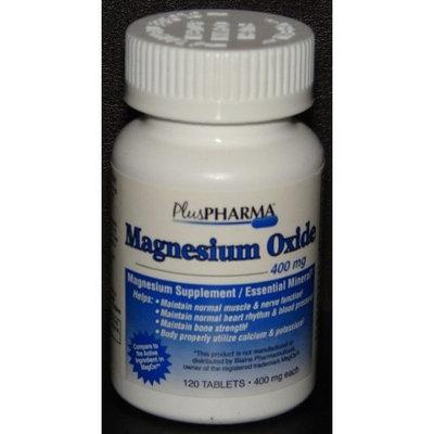 Plus Pharma PlusPharma Magnesium Oxide 400mg Tablets 120ct