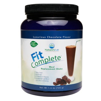 Nature's Lab Fit Complete - Meal replacement Shake, Chocolate, 1.5 lb