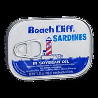 Beach Cliff Sardines in Soybean Oil