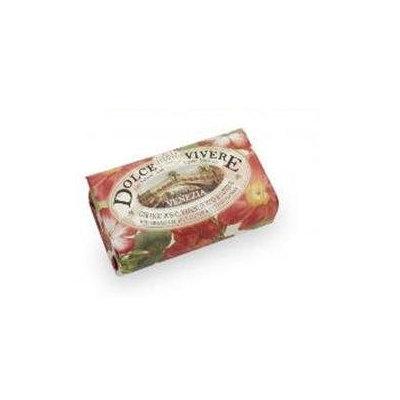 Dolce Vivere Venezia Red Geranium & Cotton Flower Soap by Dolce Vivere