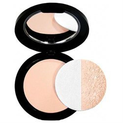 glominerals glo Pressed Base Powder Foundation Natural Medium