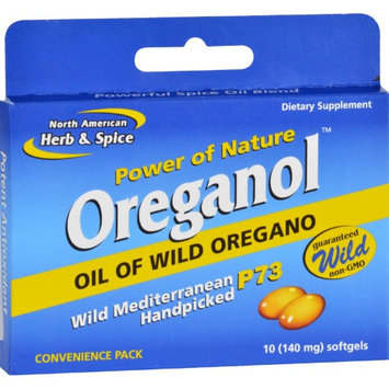 North American Herb Spice North American Herb & Spice - Power of Nature Oreganol Wild Oregano - 10 Softgels