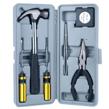 Stalwart Black Home Auto Emergency Tool Kit (7-Piece) 75-25938