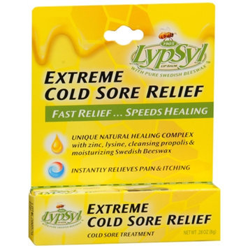 Lypsyl Extreme Cold Sore Relief with Pure Swedish Beeswax