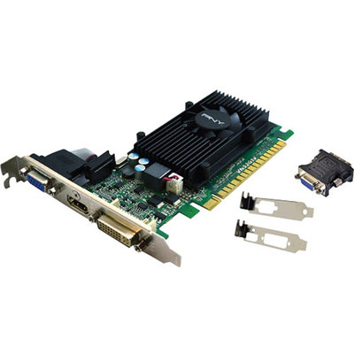 PNY Commercial GeForce GT 520 Graphic Card - 810 MHz Core - 1 GB DDR3 SDRAM - PCI Express 2.0 x16