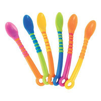 Sassy First Solids Soft Tip Spoons, 6 ea
