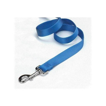 Hamilton Pet Products Hamilton 3/4-Inch Single Thick Nylon Lead with Swivel Snap, 6-Feet Long, Berry Blue