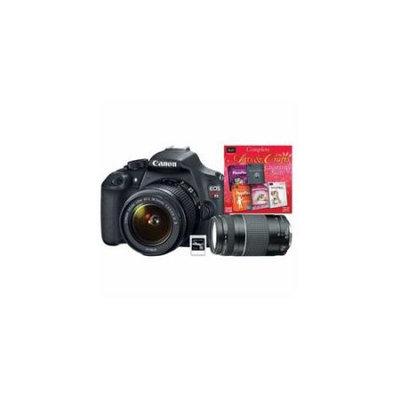 Canon 9126B003L2-4A-KIT Eos Rebel T5 Ef-s 18-55mm Is W/ Xtra Lens[6473a003] Sftwr[50586] 8GB Sd