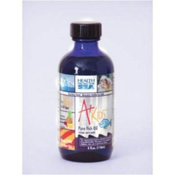 Health From The Sea A+ Kids Pure Fish Oil 4 oz ( Multi-Pack)