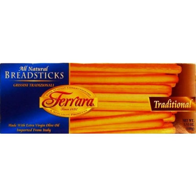 Ferrara Traditional Breadsticks, 3.5 Ounce Boxes (Pack of 12)