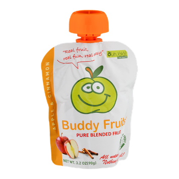 Buddy Fruits Pure Blended Fruit Apple & Cinnamon