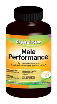 Crystal Star Male Performance - 60 - Capsule [Health and Beauty]