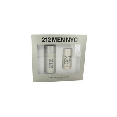 212 By Carolina Herrera Gift Set - 3.4 Oz Eau De Toilette Spray + 2.1