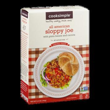 Cooksimple All American Sloppy Joe Mix