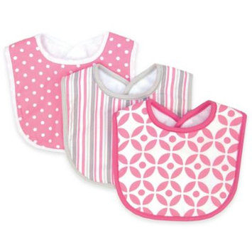 Trend Lab Nursery Kids Baby Products 3 Pack Bib - Lily