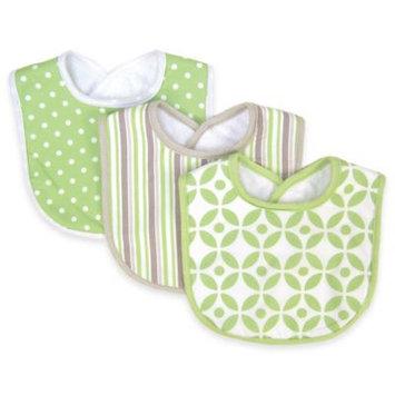 Trend Lab Nursery Kids Baby Products 3 Pack Bib - Lauren