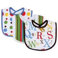Trend Lab Infant Nursery Kids 3 Pack Bib - Dr. Seuss Abc