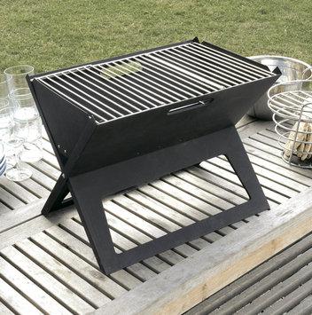 Fire Sense Grill. HotSpot Notebook Portable Charcoal Grill