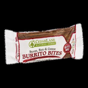 CedarLane Burrito Bites Beans, Rice & Cheese