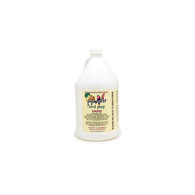 Lifes Great Products Poop Off Poop-Off Bird Poop Remover 128 oz Refill