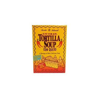 Turtle Island Soup Mix Tortilla Soup Con Queso, 5.5 Ounce