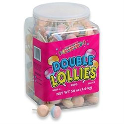 Smarties Double Lollipops