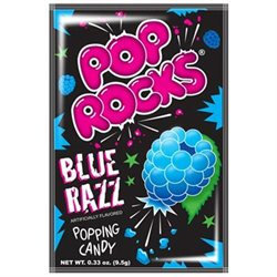 Pop Rocks, Blue Raspberry, Box Of 24 Packs