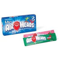 Air Heads Chewy Fruit Candy Bars 6 Pack