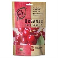 Hillside Candy Organic Cherry Gluten Free Hard Candies Bags