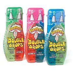 Warheads Super Sour Double Drops 1.01 oz: 24 Count