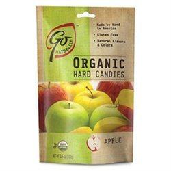 Go Lightly Go Naturally Organic Hard Candies Apple 3.5 oz bag: 6ct