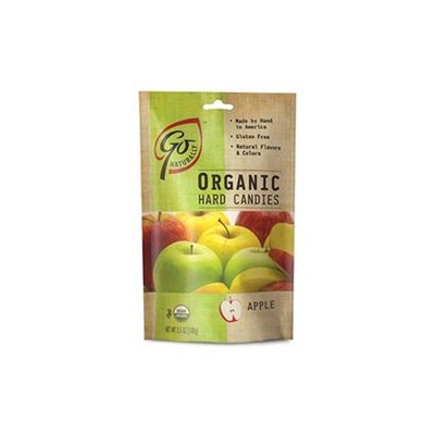 Go Lightly Go Naturally Organic Hard Candies Apple 3.5 oz bag: 6ct