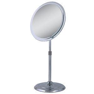 Zadro Single Sided Pedestal Vanity Mirror