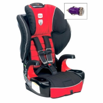 Britax Frontier 90 Booster Car Seat and FREE Mini Auto USB Adapter, Congo, 1 ea