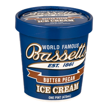 Bassetts Ice Cream Butter Pecan