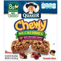 Quaker® Dark Chocolate Cherry Chewy Granola Bars 90 Calories