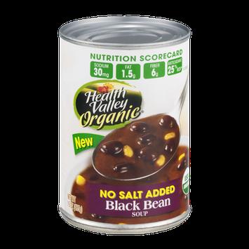 Health Valley Organic Soup Black Bean No Salt Added