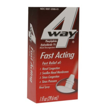 4-Way Fast Acting Nasal Spray, 1 fl oz