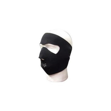 Sk Hat Shop BLACK NEOPRENE WINTER FULL FACE MASK w NOSE MOUTH VENTS
