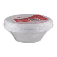 Ahold Party Bowls Plastic - 24 CT