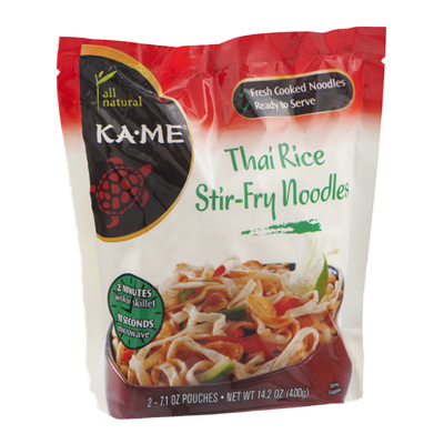 Ka-Me All Natural Thai Rice Stir-Fry Noodles - 2 CT
