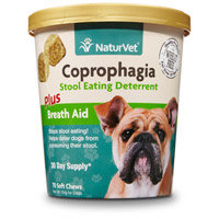 American Animal Health Garmon Corporation-Naturvet AH03698 Coprophagia Plus Breath Aid Soft Chew - 70 Count