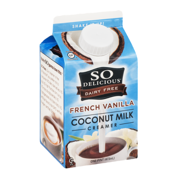 So Delicious Dairy Free Coconut Milk Creamer French Vanilla
