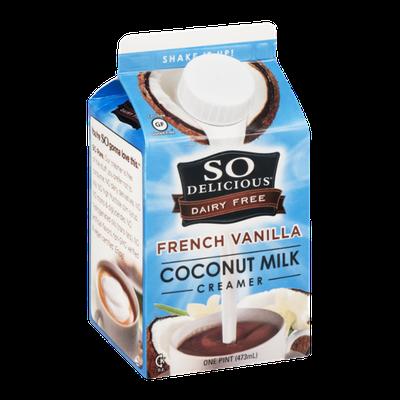 So Delicious Dairy Free Coconut Milk Creamer French Vanilla