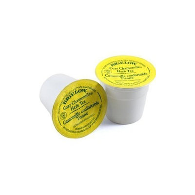 Gloria Jean's Bigelow Cozy Chamomile Tea, 18-Count K-Cups for Keurig Brewers (Pack of 2)